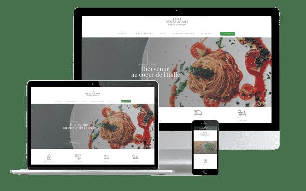 agence creation site restaurant